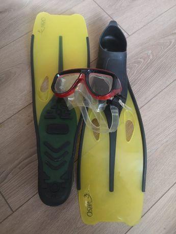 Ласты с очками для плавания