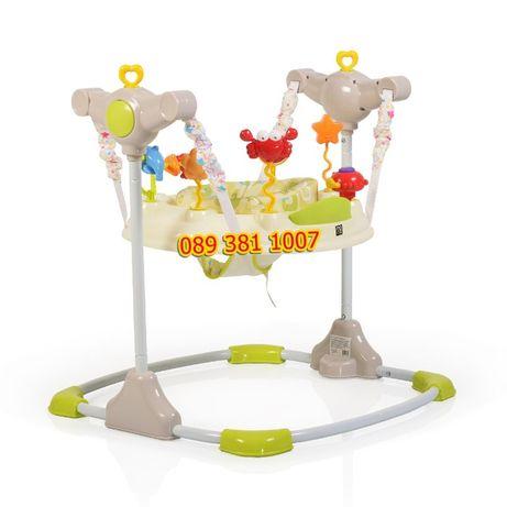 НОВО детско/бебешко бънджи- проходилка VISTA + играчки и светлини