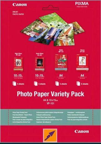 Canon VP-101 Photo Paper Variety Pack A4 si 10 x 15 cm Cutie sigilata