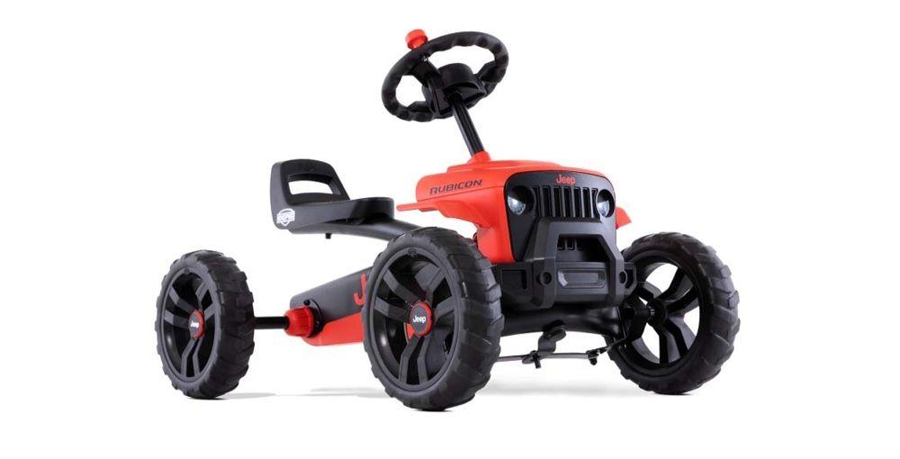 Kart cart cu pedale Berg Jeep Buzzy Rubicon pentru copii 2-5 ani Domnesti - imagine 1