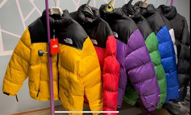 TNF 700 nuptse The North Face retro 1996 зимняя куртка