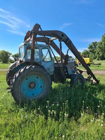Трактор мтз 50 стогомет