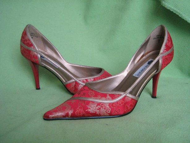 Туфли в китайском стиле