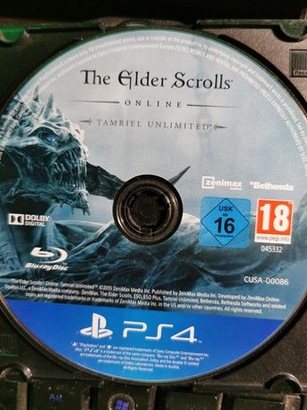 The Elder Scrolls online Tamriel Ultimited Sony PS4