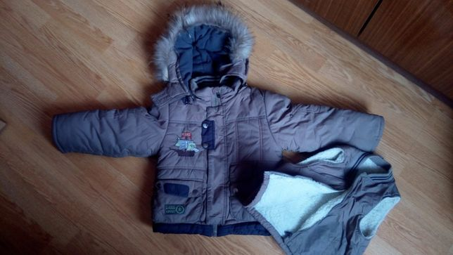 Куртка +штаны комбез детская зимняя