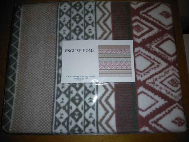 Vand patura English Home 2x2,2ml. Noua. Sigilata.