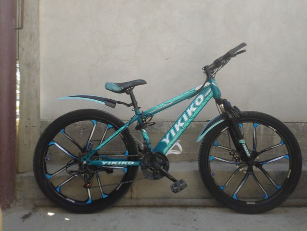 Продается велосипед Yikiko  цена 48000 тг