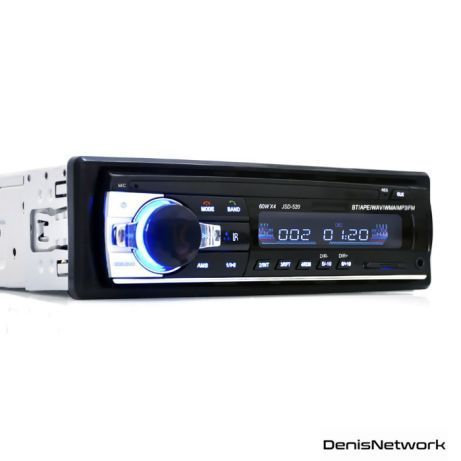 Radio auto MUFĂ ISO MP3 Bluetooth de masina, FM-USB-SD-AUX JSD-520