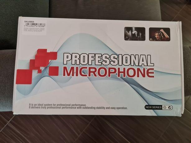 Microfon profesional cu stativ - produs NOU