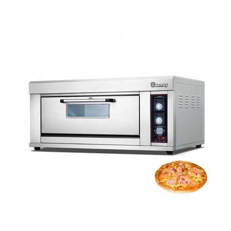 Професионална Фурна за пици НА ГАЗ Неръждаема стомана Печка за пица