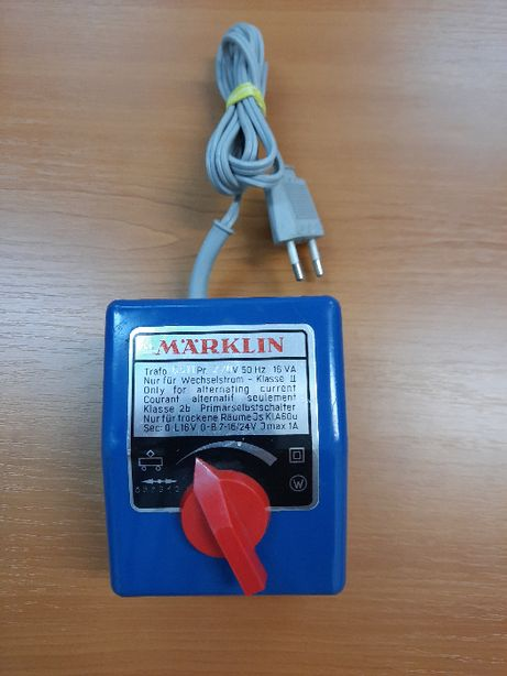 Transformator pentru trenulet electric, Märklin 6511