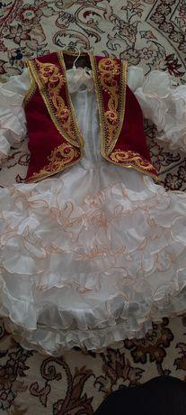Платье национальное 2-3 годика