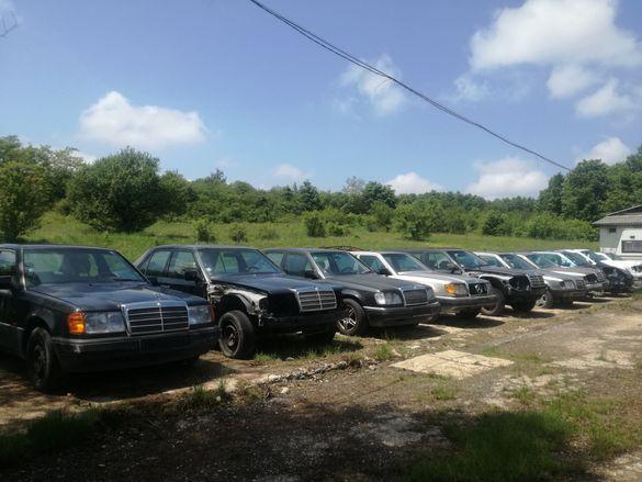 Всички модели Мерцедес 124