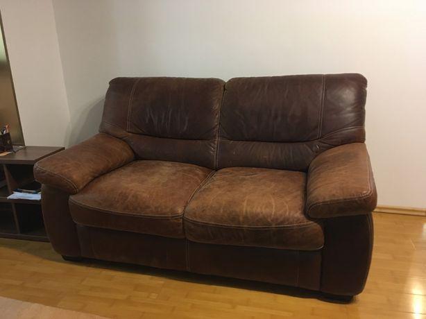 Canapea Sena din piele Mobexpert