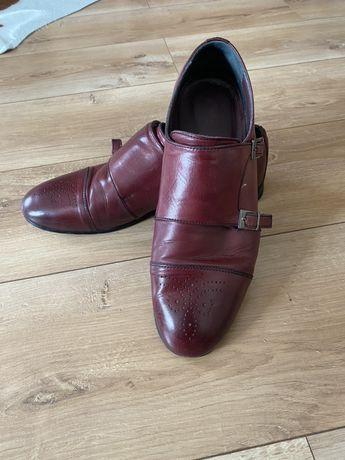 Pantofi Bigiotto tip Monk Piele nr. 42-43