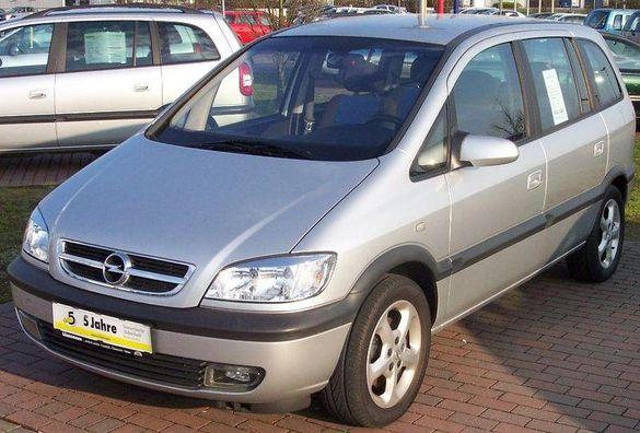 Опел Зафира 2.0DTI 101кс '01г Opel Zafira 1.8 125кс / 1.6 16V 101кс