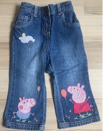 Pantaloni 1-1,5 ani Next Peppa H&M super frumosi