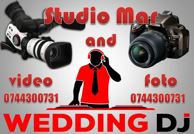 Dj, Video, Foto pentru Nunti, botez, evenimente - StudioMar Wedding