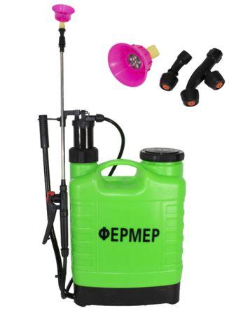 Pompa de Stropit Manuala vermorel 16L Fermer 3duze2 Tipuri pulverizare