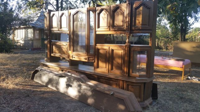 mobila sufragerie lemn masiv