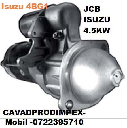 Electromotor JCB JS130, JS110, JS145, JS160 motorizare isuzu