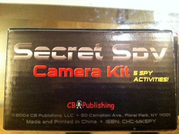 Vand aparat foto spion, intr-o cutie de lapte