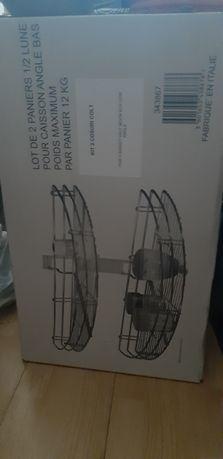 Kit suport 2 cosuri semiluna de colt