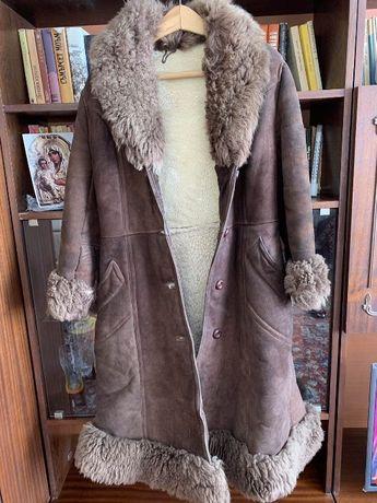 Палто от овча кожа