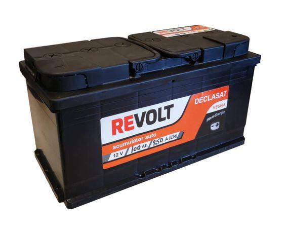 Acumulatori / baterii auto Revolt noi declasate de 75 Ah si de 100 Ah