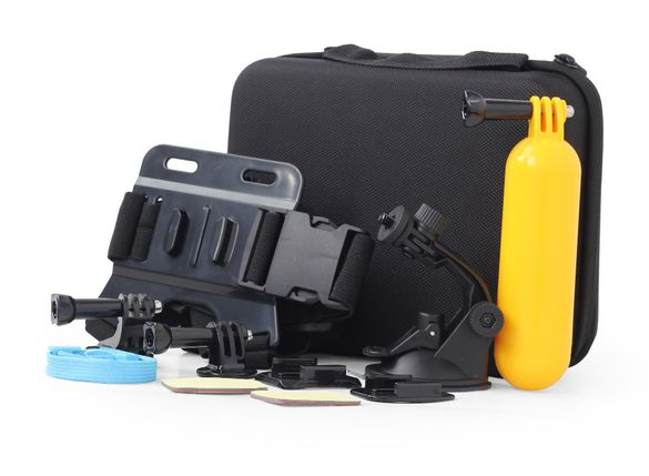 Комплект аксесоари за Екшън камера MAXXTER-10 части