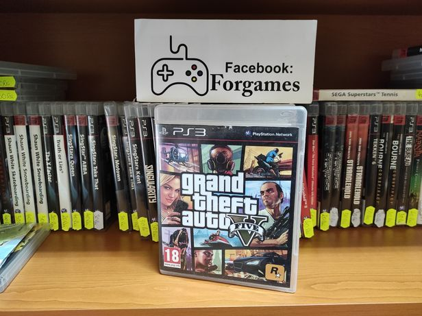 Vindem jocuri PS3 GTA 5 Grand Theft Auto V PS3