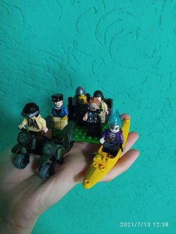 Лего игрушки фигурки