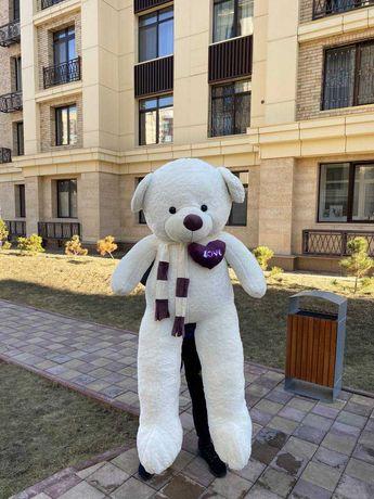 Большие плюшевые мишки медведи 170 см + доставка бесплатно подарок