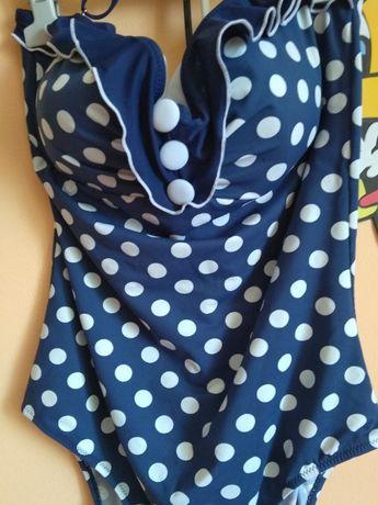 Costum baie push up/gravida