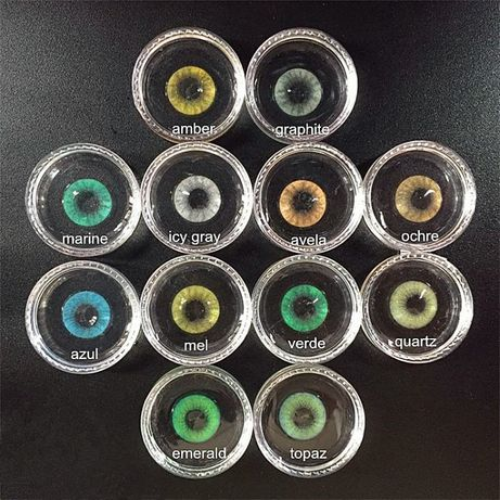 Цветни контактни лещи Freshgo Hidrocor