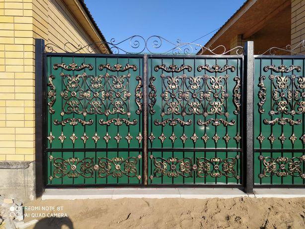 Двери. Ворота. Ограждения. Отопление. Любые виды металлоконструкции