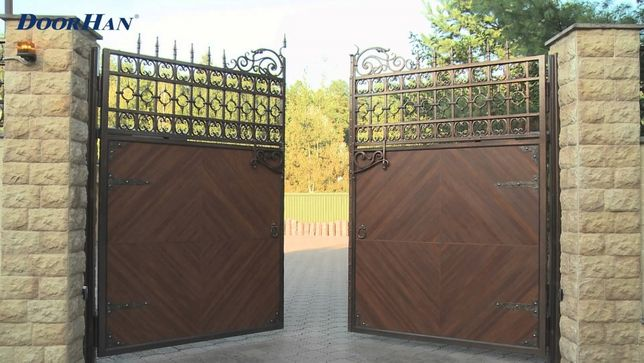 Рольворота, Секционные ворота, Откатные ворота, Распашные ворота