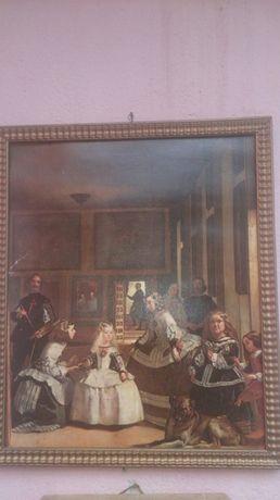 Tablou vechi pictura pe artie
