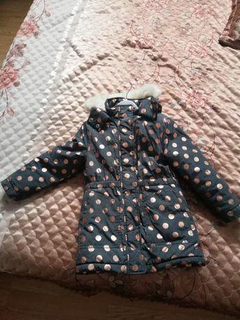 Зимняя тёплая куртка для девочек