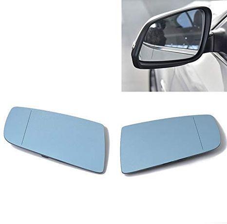 Стъкло за огледало синьо за BMW SERIES 5 E60/61 2003-