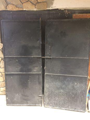 метална врата / метални врати за къща , гараж, двор, ограда
