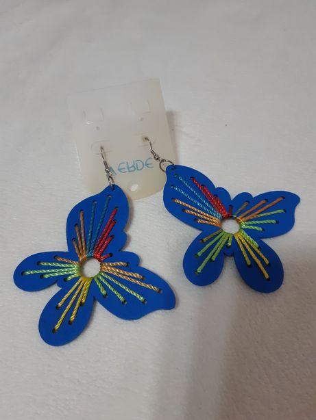 Cercei fluture handmade