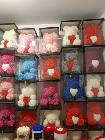 Ursuleți pufoși diferite culori