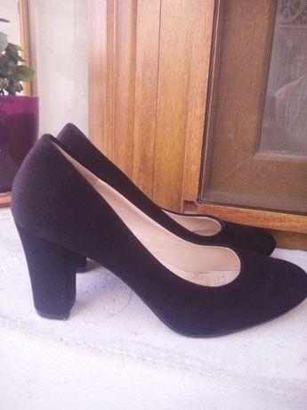 Pantofi de catifea