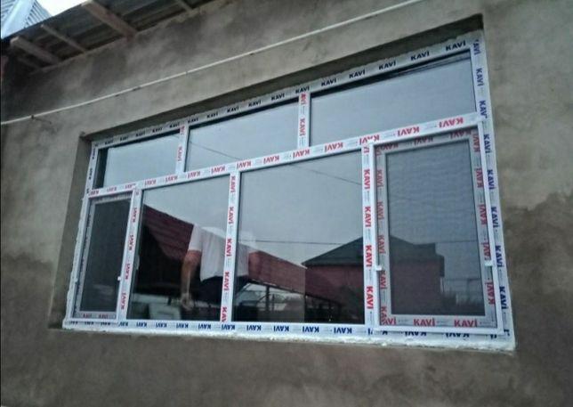 Пластиковые окна двери и витражи