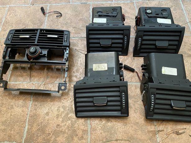 Set complet guri / grile aerisire (ventilatie) Audi A8 D3