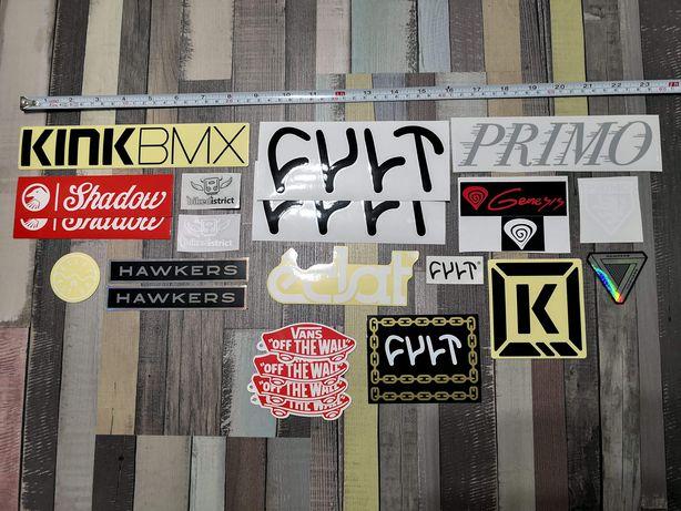 Stickere BMX Vans, Cult, Shadow, Primo, Eclat, Kink, Genesis, Hawkers