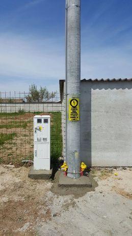 Executie bransamente electrice - zona ILFOV/ BUCURESTI