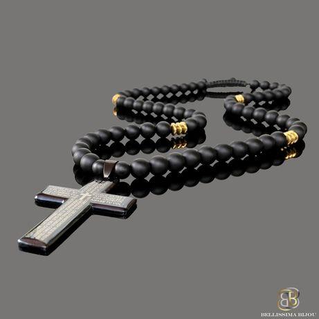 Мъжко Колие със Стоманен Кръст