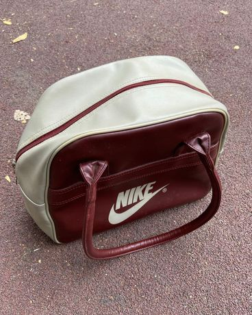 Сумка Nike, унисекс, кожаная
